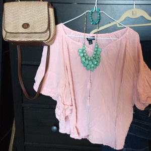 Tops - Lovely gauze peasant blouse